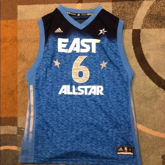 finest selection bc022 95178 LeBron James 2012 NBA All Star Jersey Rare